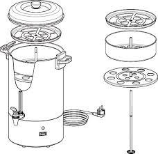 Coffee Perculator - multiple sizes