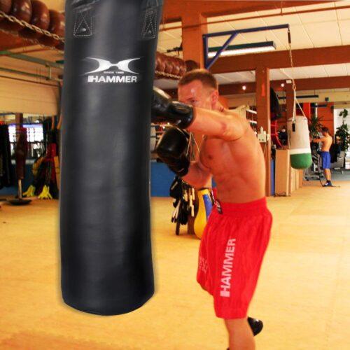 Boxing Punch Bag Kick