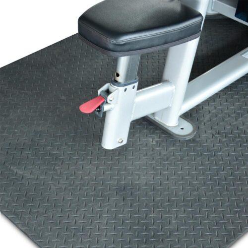 Rubber Floor Protector Mat Body Solid RF546