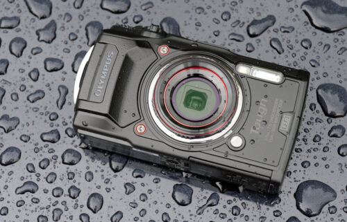 Tough Waterproof Camera Olympus TG-6 + 32GB SD Card